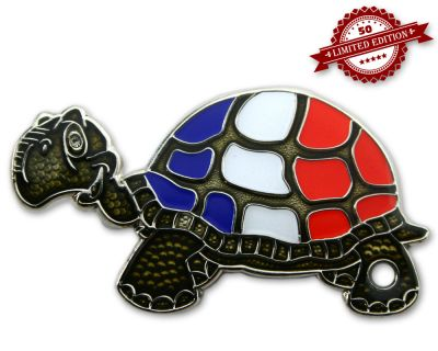 GeoTurtle Nation Geocoin - Mr. France XLE 50