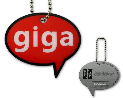 Cache Icon Tag - Giga Event
