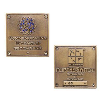 Blue Switch Geocoin LE