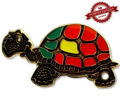 GeoTurtle Nation Geocoin - Mrs. Portugal XLE 50
