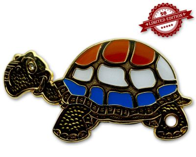 GeoTurtle Nation Geocoin - Mrs. Netherlands XLE 50