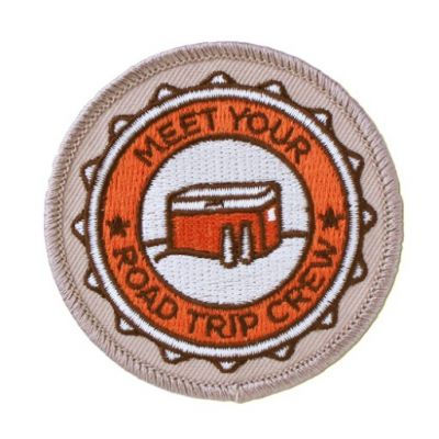 Road Trip 2015 - Meet Your Road Trip Crew Patch