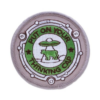 Road Trip 2015 - Put on Your Thinking Cap Patch