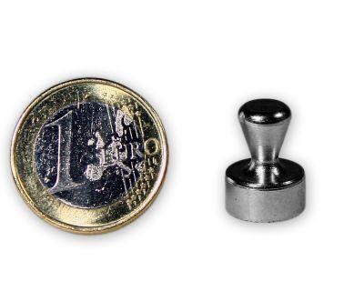 5 Stück Kleiner Kegelmagnet aus Stahl - 12,0 x 16,0 mm