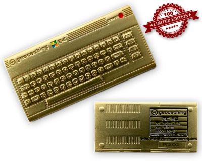 C64 Geocoin - Luxus Edition LE 100