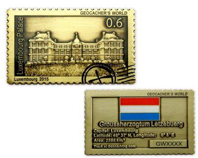 Geocachers World Luxembourg Antik Gold