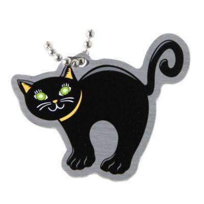 Halloween Travel Tag - Black Cat
