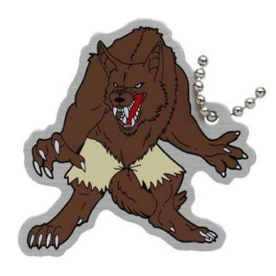 Halloween Travel Tag - Wulfric the Werewolf