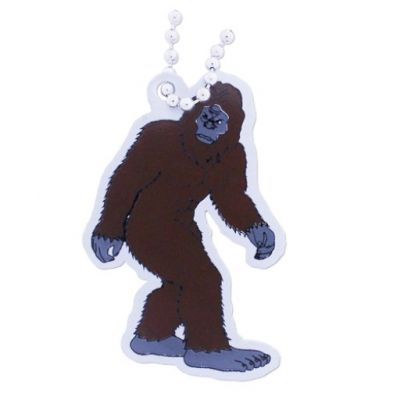 Harry the Bigfoot Travel Tag