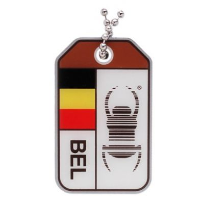 1 x Groundspeak Travelbug BELGIEN