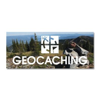Geocaching Logo K?hlschrank Magnet