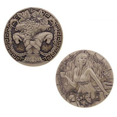 Greek Gods Geocoin - Cybele