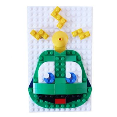 Deluxe Signal the Frog® LEGO Set