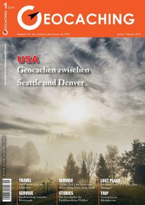 Geocaching Magazin 01/2016 Januar/Februar