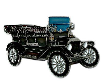 Ford Model T Geocoin - Black
