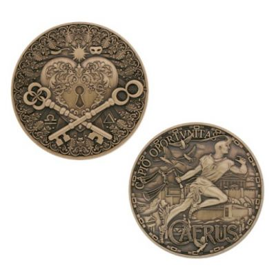 Greek Gods Geocoin - Caerus