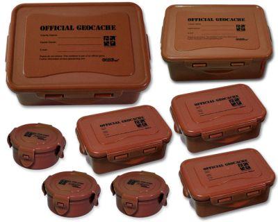 Cachebehälter Set Premium Wood (8 Cachebehälter)
