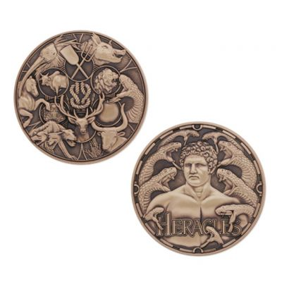 Greek Gods Geocoin - Heracles