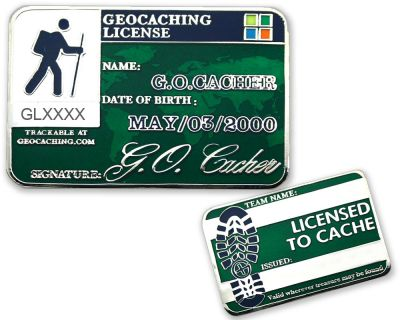 Geocaching License Geocoin - Patient (opt. mit Gravur)