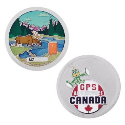 GPS Adventures Maze Geocoin - Canada