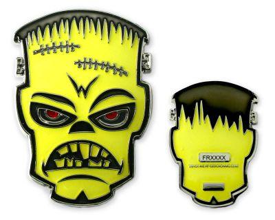 Frankenstein Geocoin - Nightmare Glow