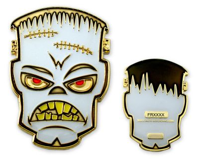 Frankenstein Geocoin - Ghost