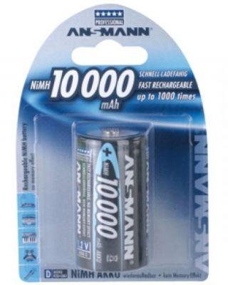 1er Blister Ansmann Mono D 10000mAh