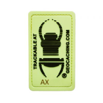 Travel Bug® Patch Glow In The Dark trackbar