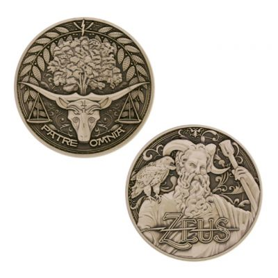 Greek Gods Geocoin - Zeus