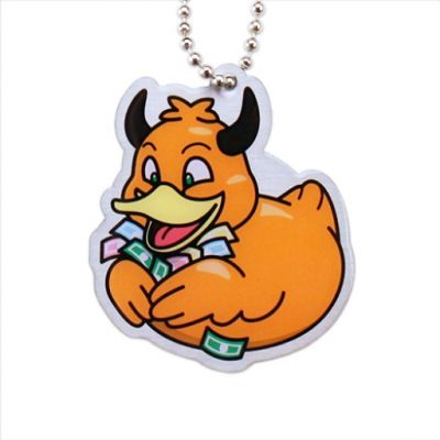 Official Deadly Duck Trackable Tag - Greed / Gier