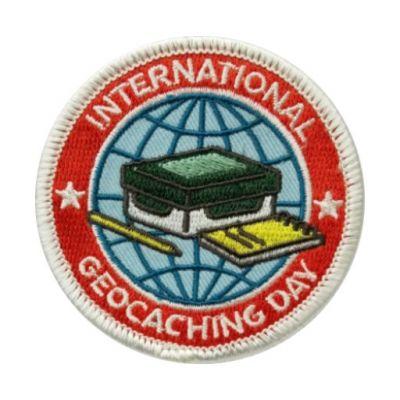 2016 International Geocaching Day - Aufn?her / Aufb?gler / Patch