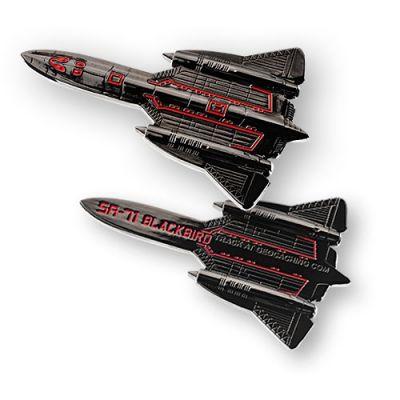SR-71 Blackbird Geocoin