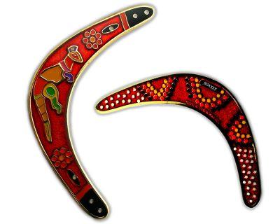 Boomerang Geocoin - Outback