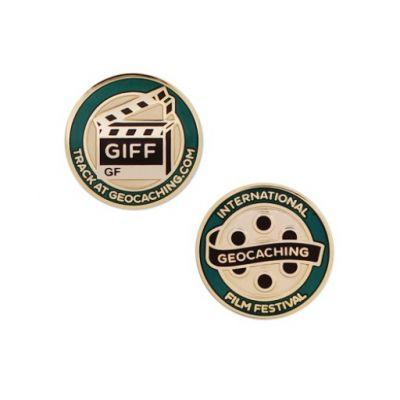 GIFF (Geocaching Film Festival) 2016 MICRO Geocoin