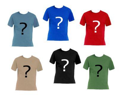 Zufalls Geocaching T-Shirt (Überraschung)
