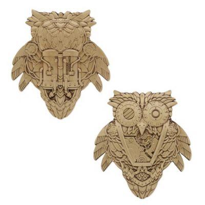Steampunk Owl Geocoin