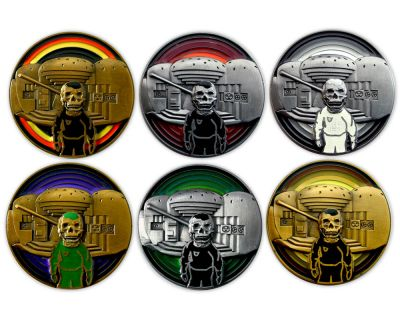 We Love Lost Places Geocoin Sammler Set (6 Coins)