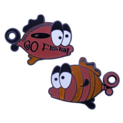 Go Fish Geocoin - Limited Edition Orange