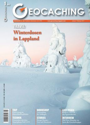 Geocaching Magazin 01/2017 Januar/Februar