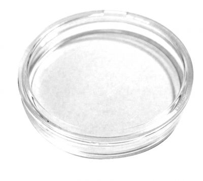 Plastik Coin Box 1.75 Zoll (ca. 44.5 mm)