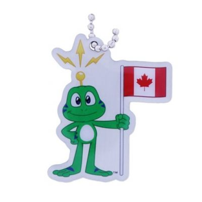 Canada Travel Tag - Where in the world is Signal the Frog??