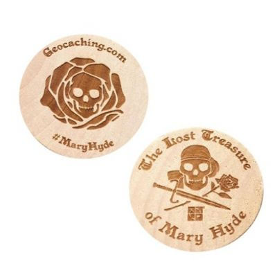 The Lost Treasure of Mary Hyde - Wooden Nickel (Holzcoin)