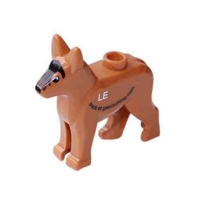 Geocaching LEGO? Hund trackbar