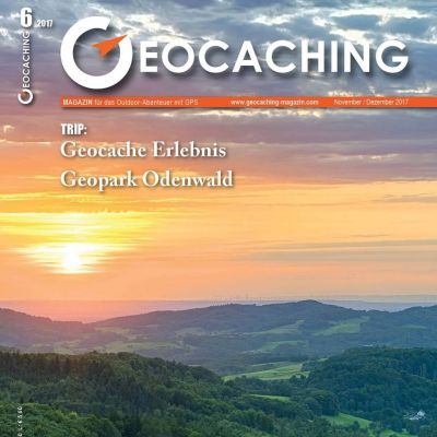 Geocaching Magazin 06/2017 November/Dezember