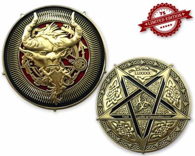Luzifer 666 Geocoin - Fallen Angel XLE 75