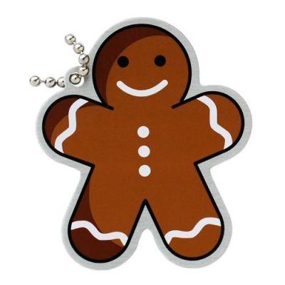 Gingerbread Man Travel Tag