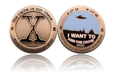 I want to find the Cache Geocoin Antik Silber