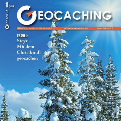 Geocaching Magazin 01/2018 Januar/Februar