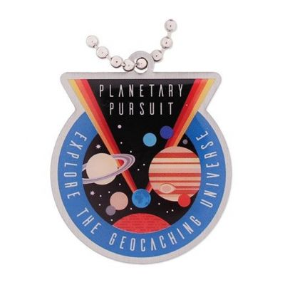 Planet Pursuit Travel Tag