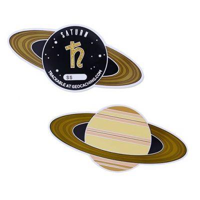 Planetary Pursuit - Solar System Geocoin XL - Saturn